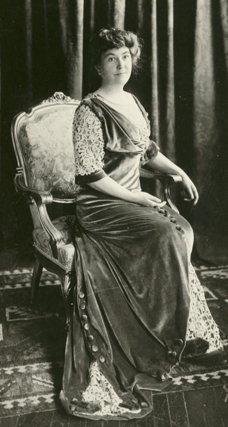 Ellen Wilson before 1910