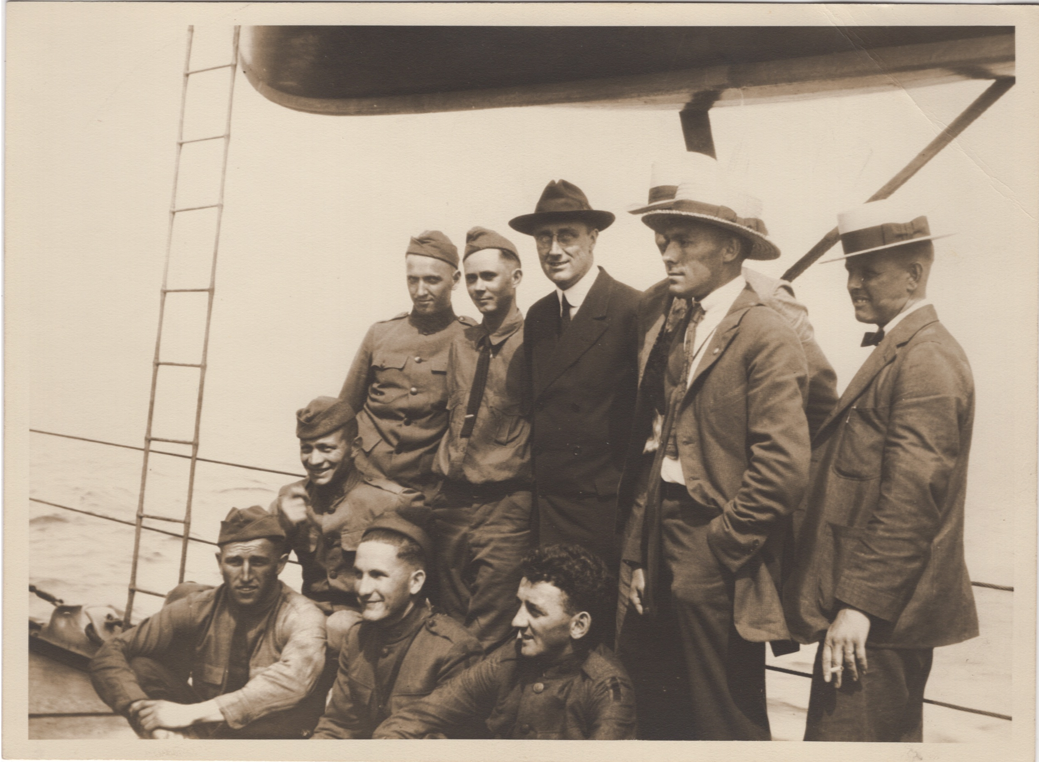 Franklin Delano Roosevelt c. 1917