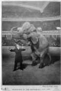 Houdini and Jennie the Elephant