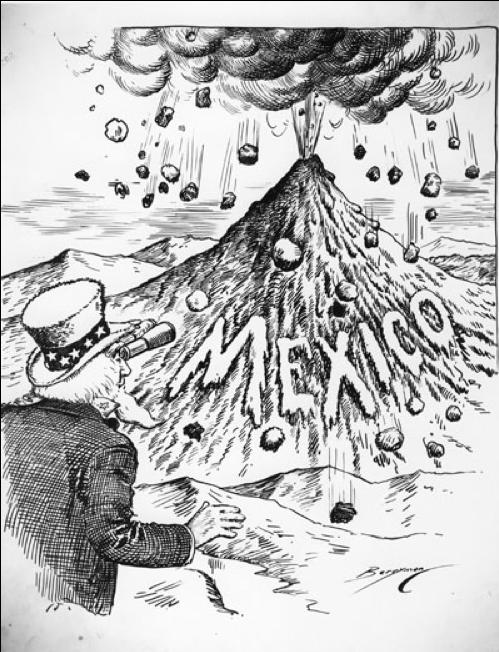 Volcanic Mexico 1913