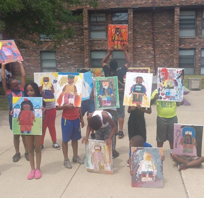 Summer Art Camp at BJW Courts Apartments