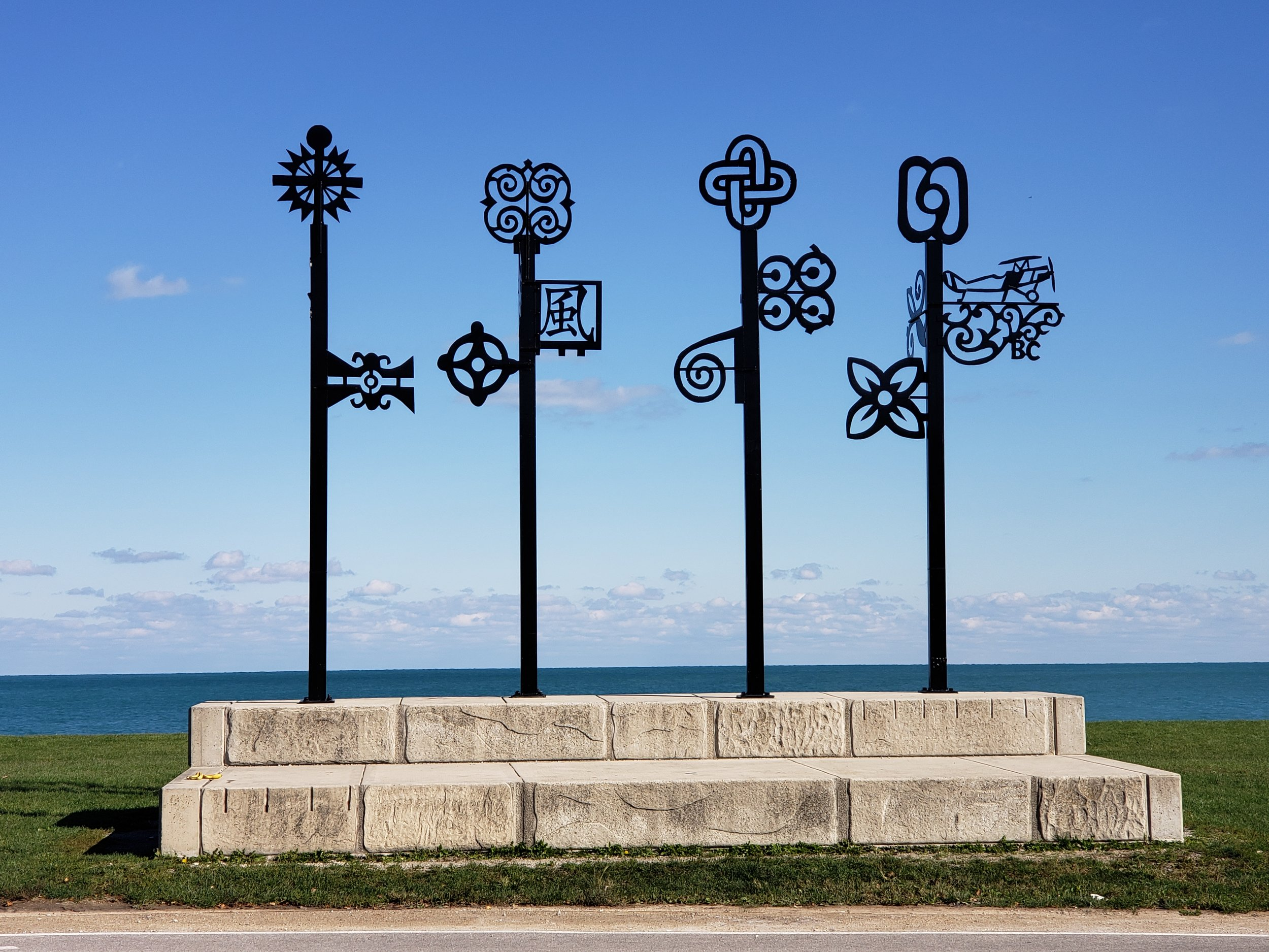 """""""Letter to Bessie Coleman"""" at 39th Street Beach"""