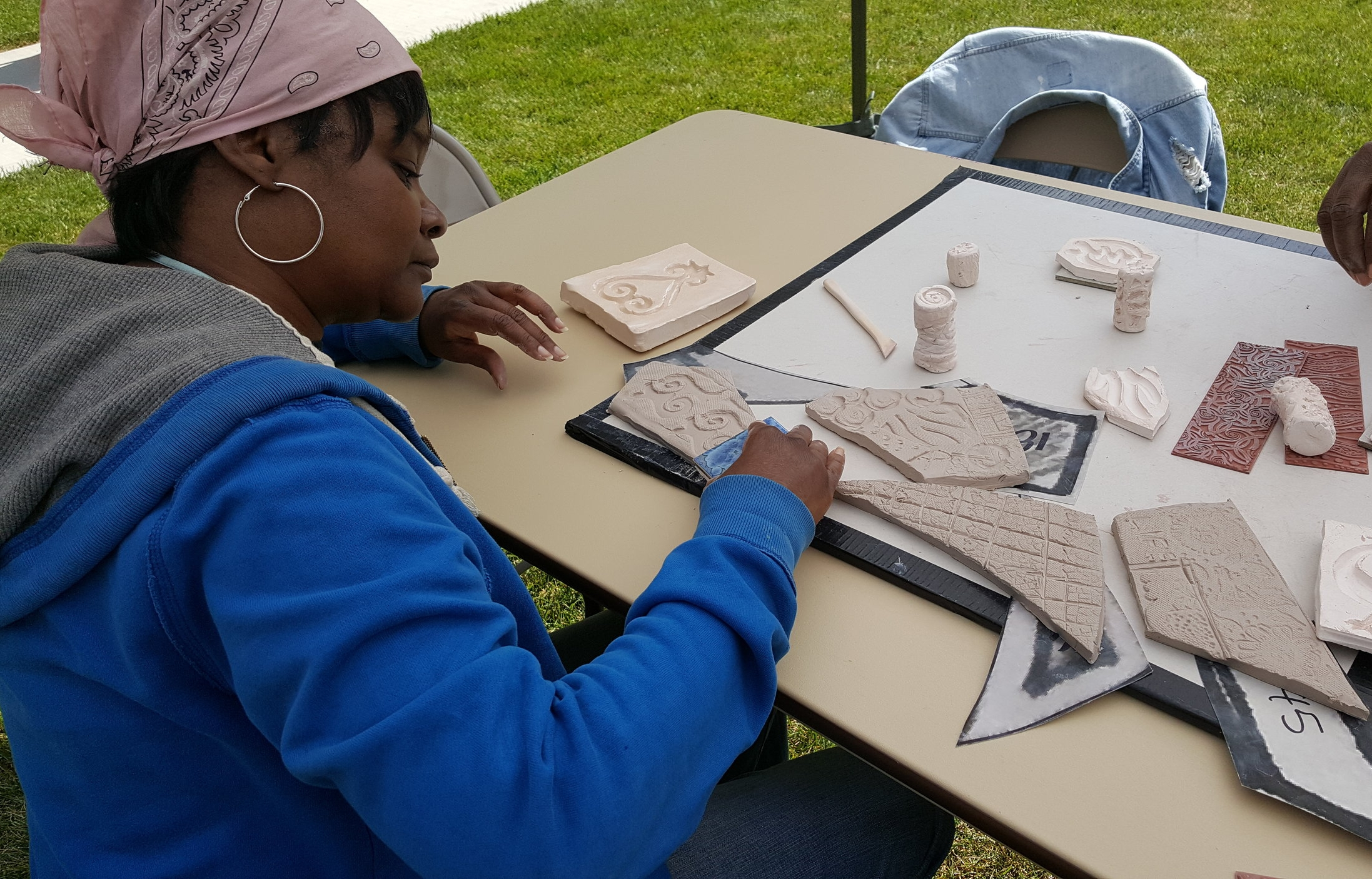 Clay Workshop at Rosenwald Courts Apartments