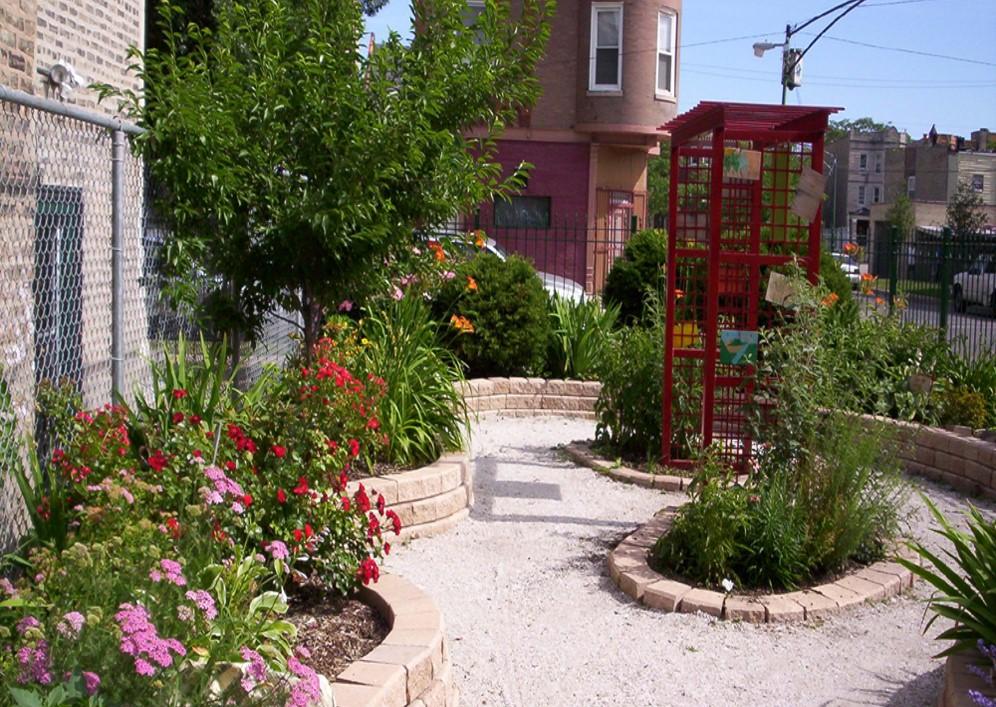 James Russel Lowell School Garden