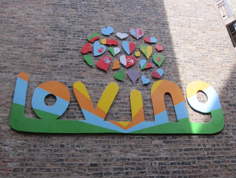 """Loving"" Mural, 2010"