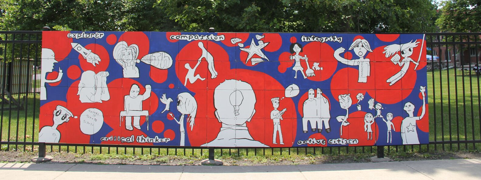 Polaris Academy Anti-Bullying Mural, 2011