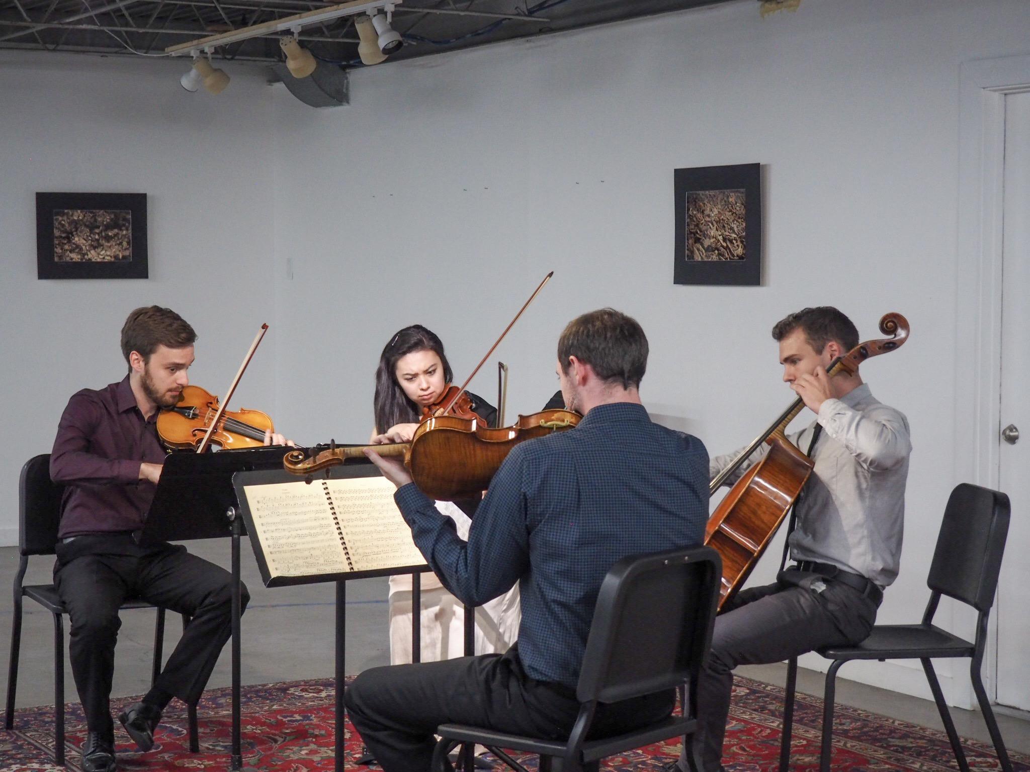 Chamber music at Imagine Art Gallery