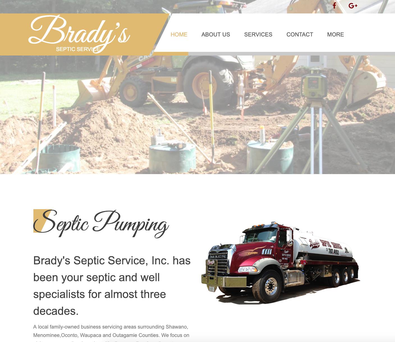 Brady's Septic Service