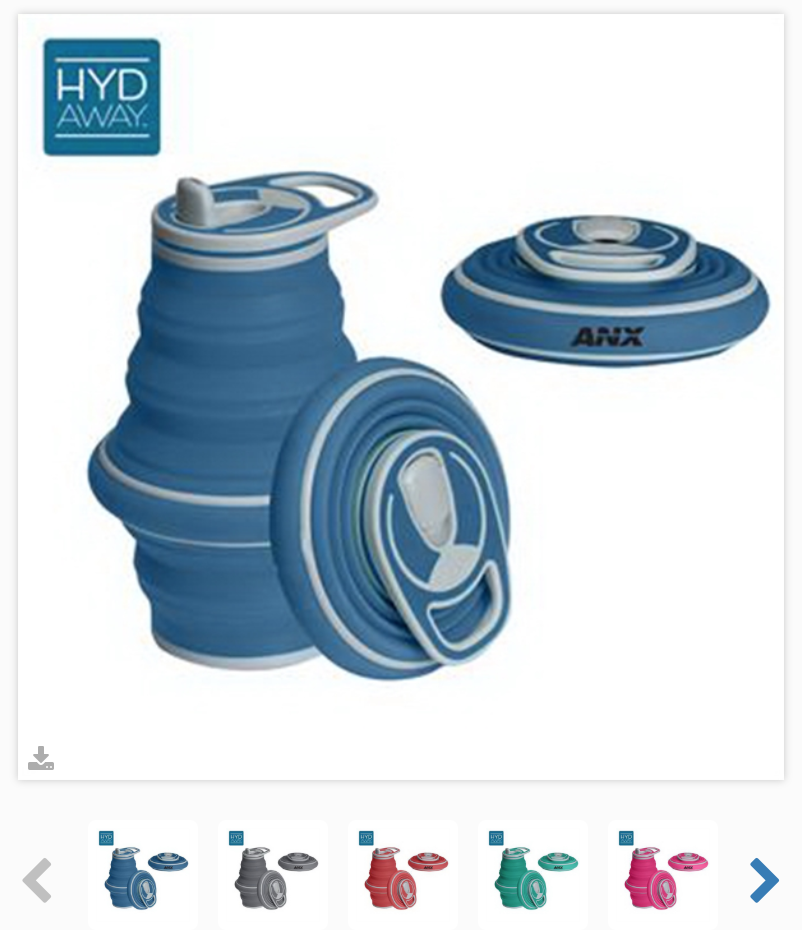 Hyd-Away Water Bottle  Product #: HY-TM3600