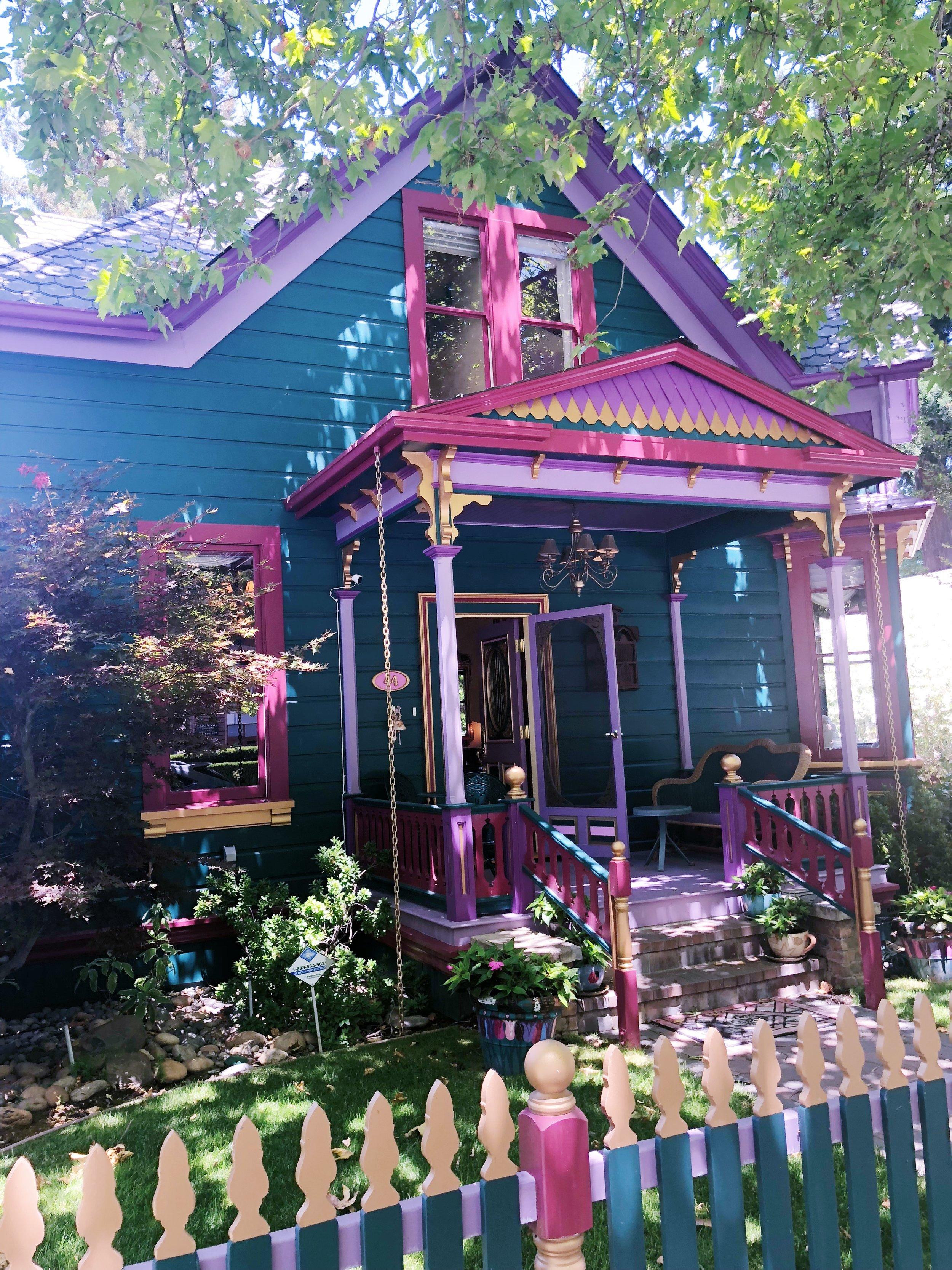 Los Gatos Victorian House Porch.JPG