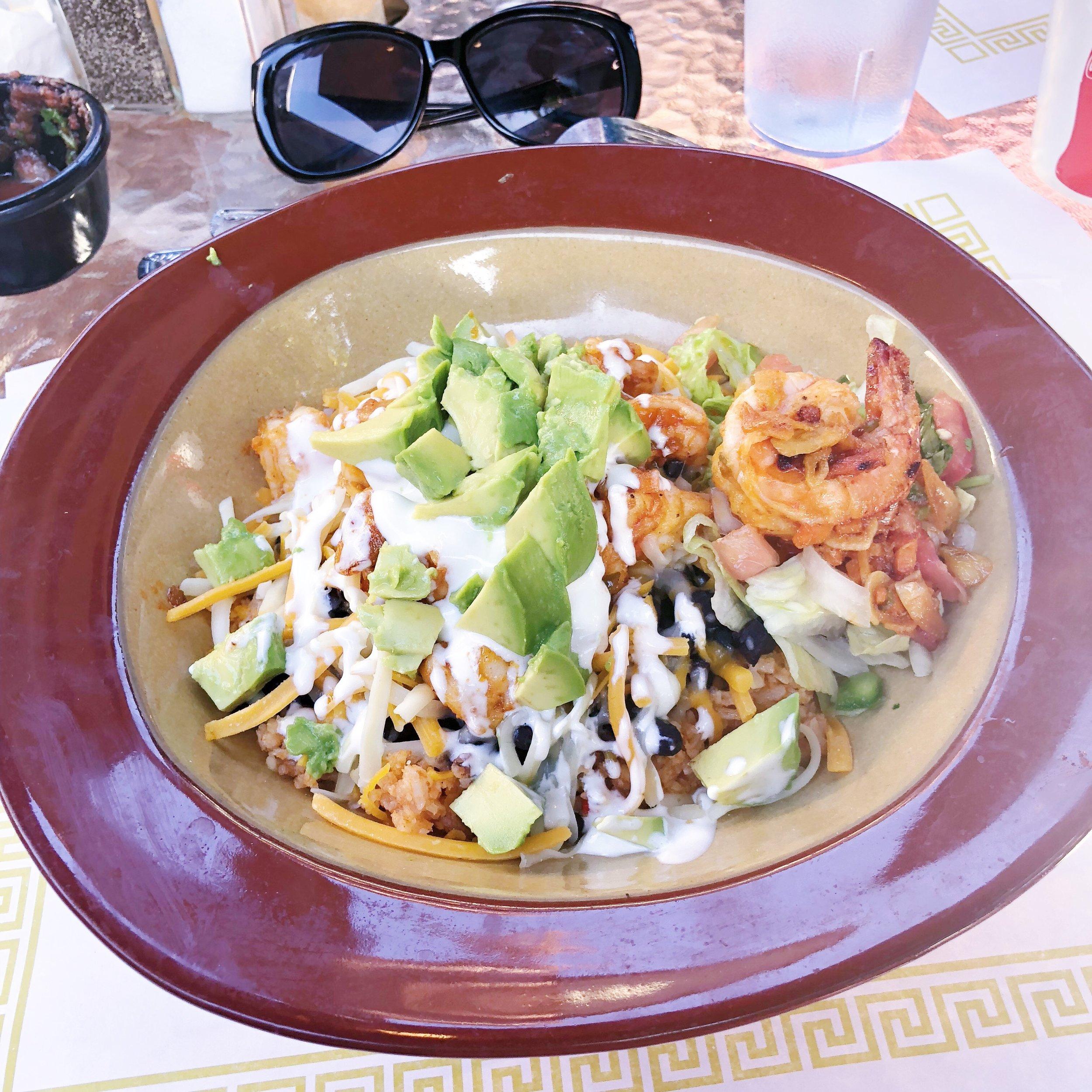 Fiesta Vallarta Burrito bowl los altos