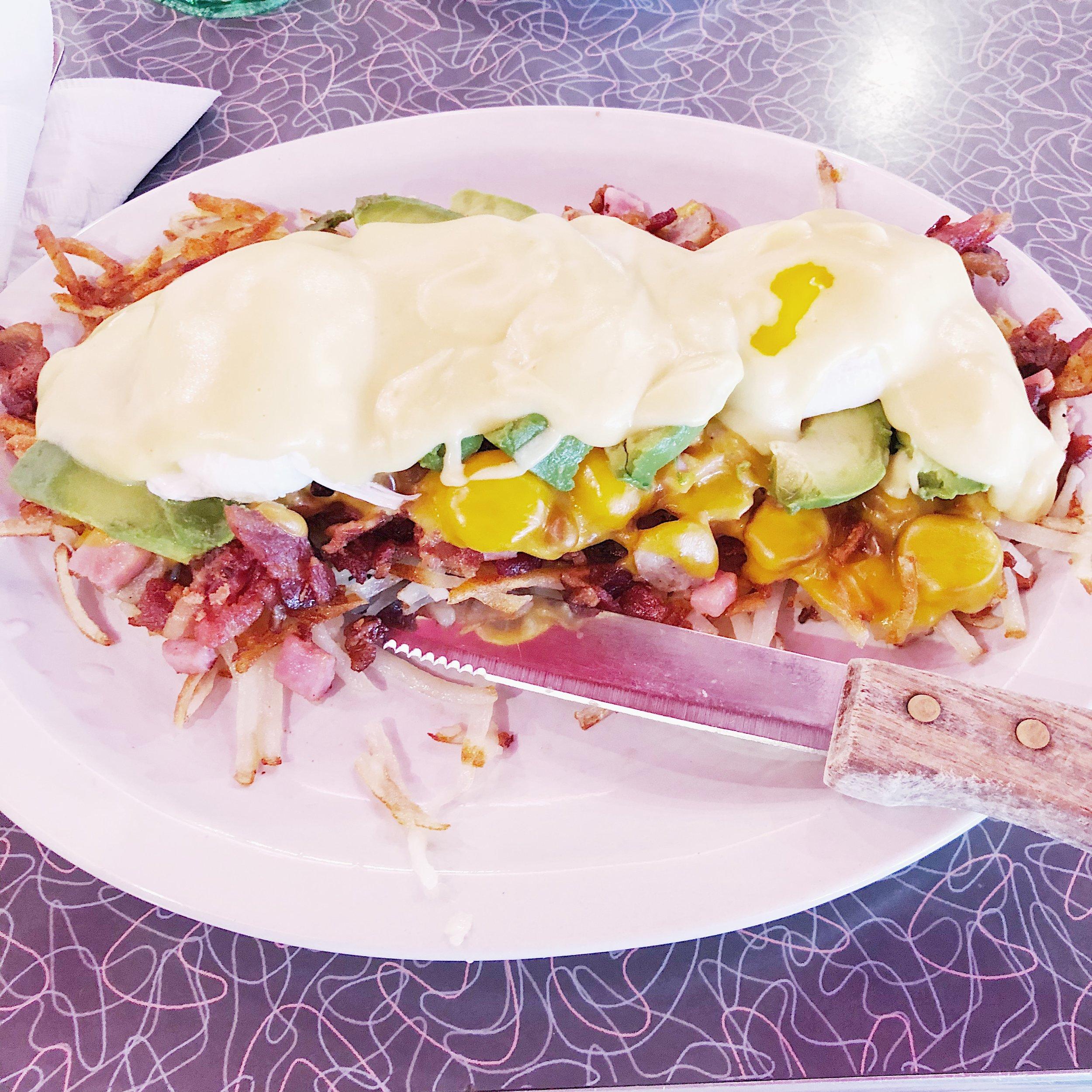 Eggs Benedict Los Gatos Diner