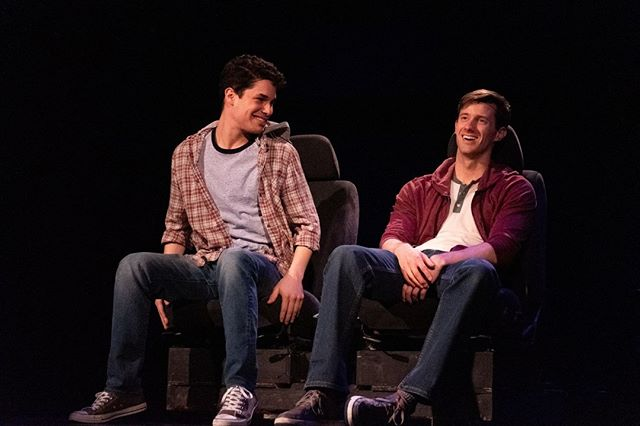 Have you seen Girlfriend yet? This coming-of-age 1990s musical is a @theaterworksct production playing at @TheWadsworth now through April 28.  #hartford #theaterworks #wadsworth #musical #TOD #transit