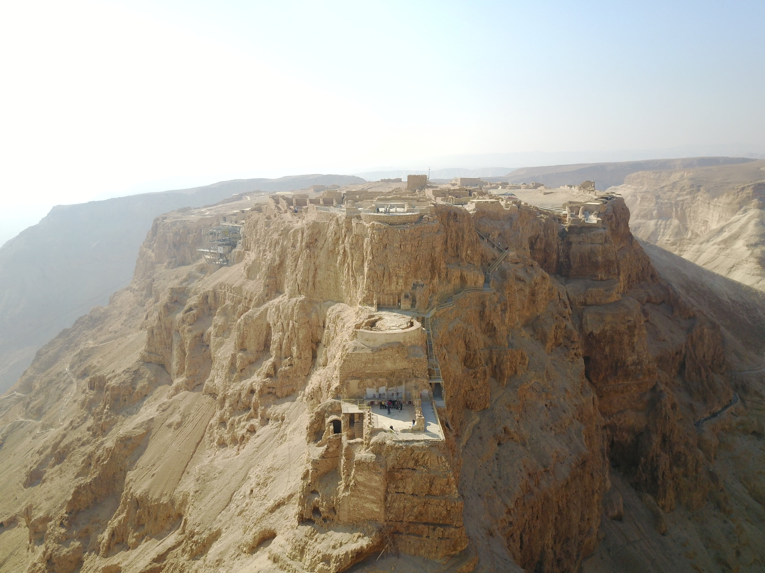 MASADA, EN GEDI and QUMRAN