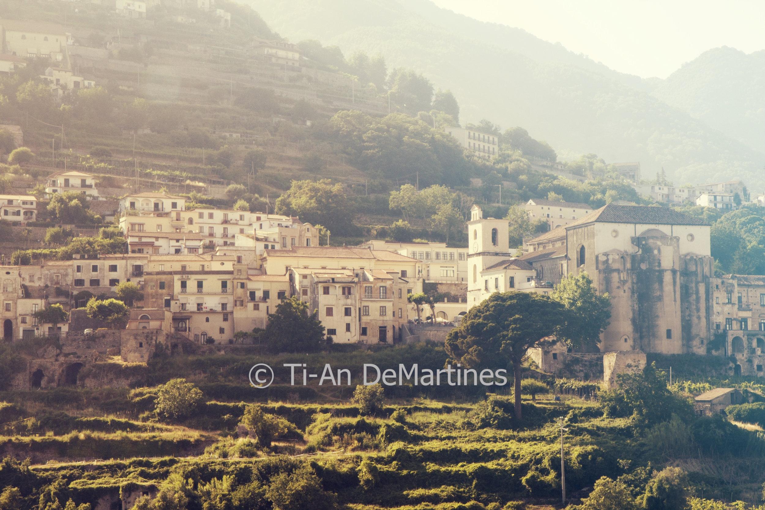 Views of Scala from Ravello II   Digital photograph  2017