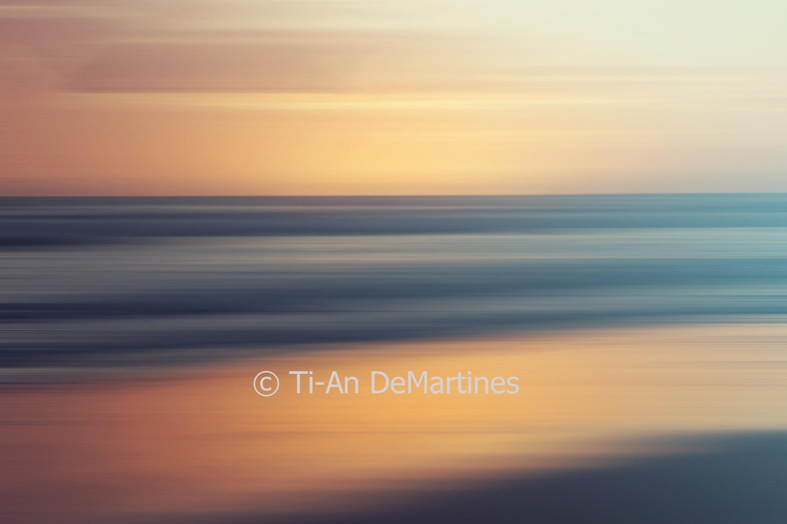 Sunrise at Bilinga   Digital photograph  2018