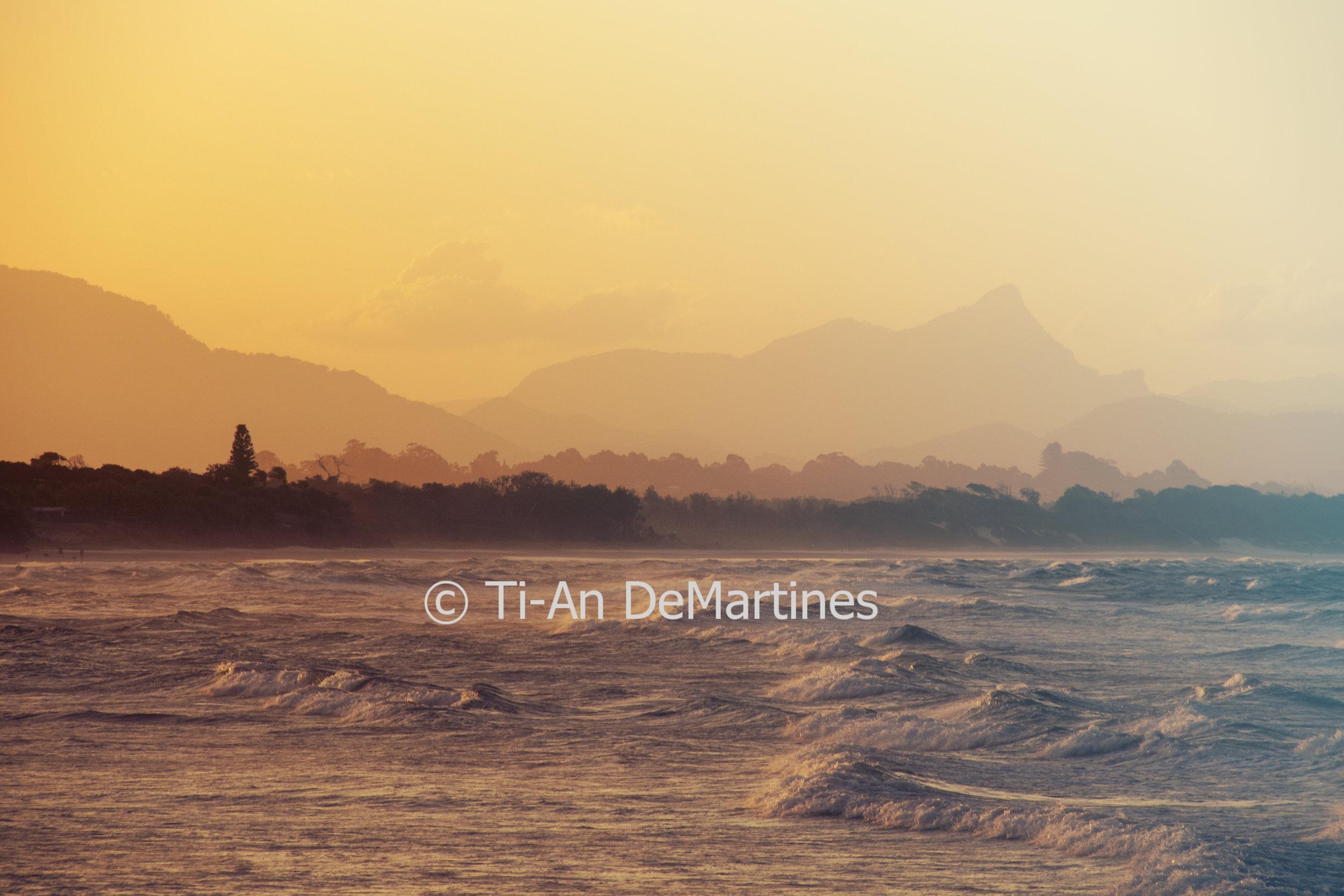 Sunset Meditations in Byron Bay VI   Digital photograph  2018