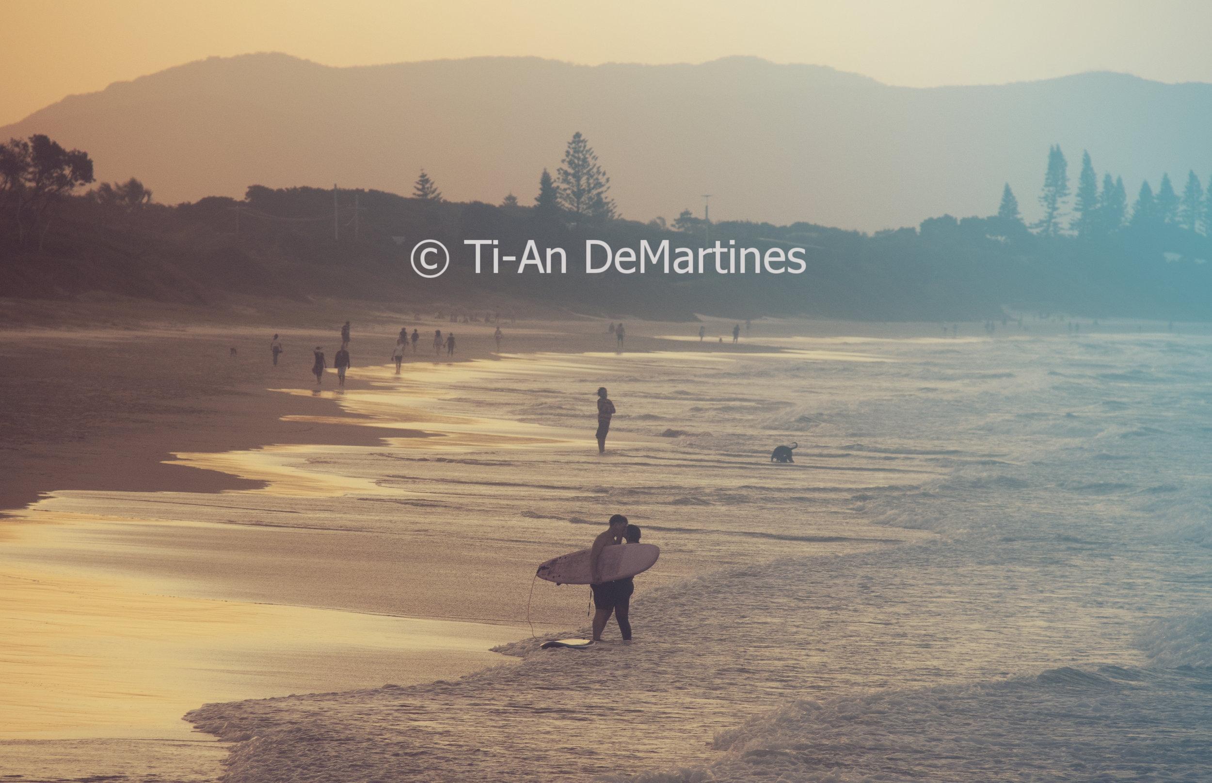Sunset Meditations in Byron Bay VII   Digital photograph  2018