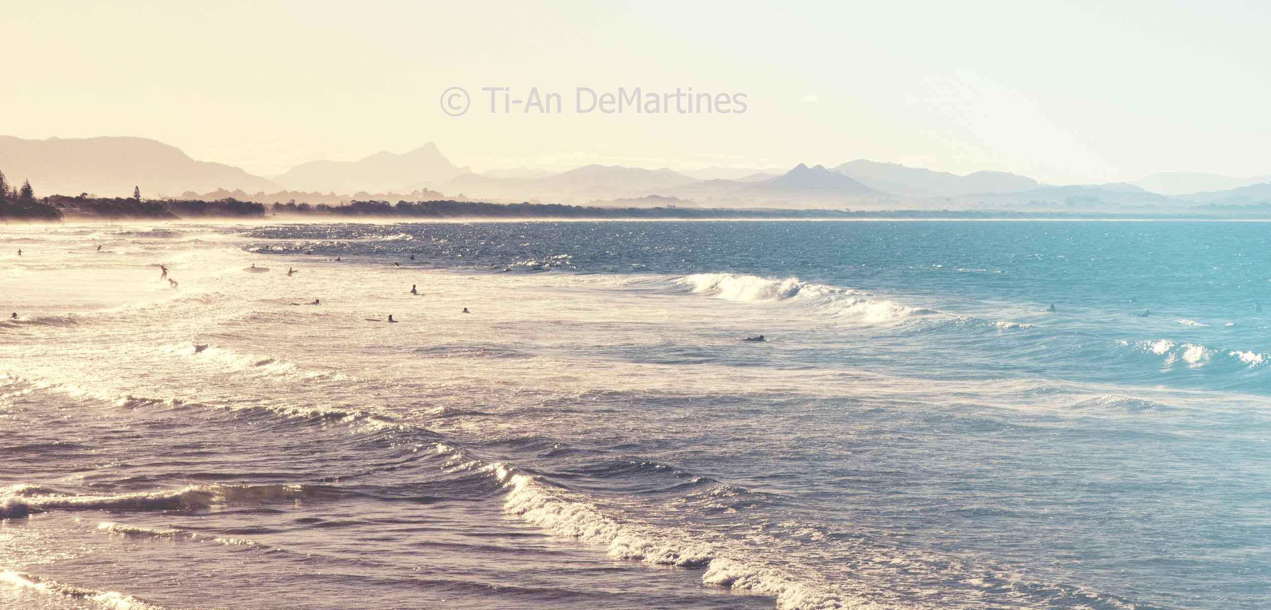 Sunset Discoveries in Byron Bay    Digital photograph  2015