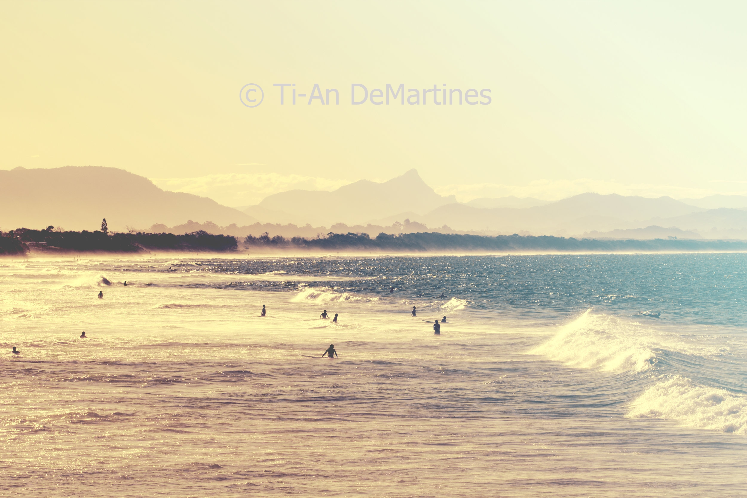 Sunset Discoveries in Byron Bay II   Digital photograph  2015