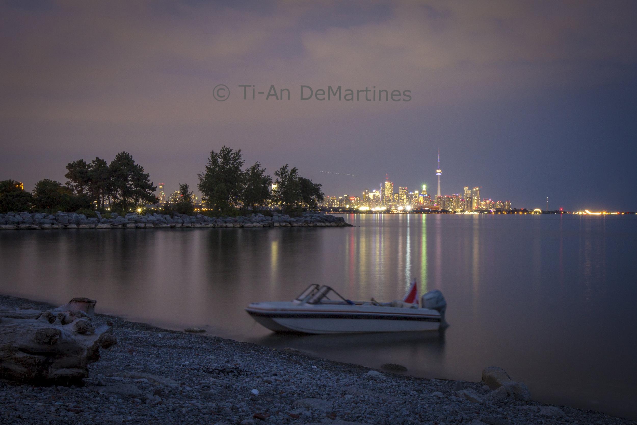 The Lone Man's Boat at Humber Bay Park   Digital photograph  2017
