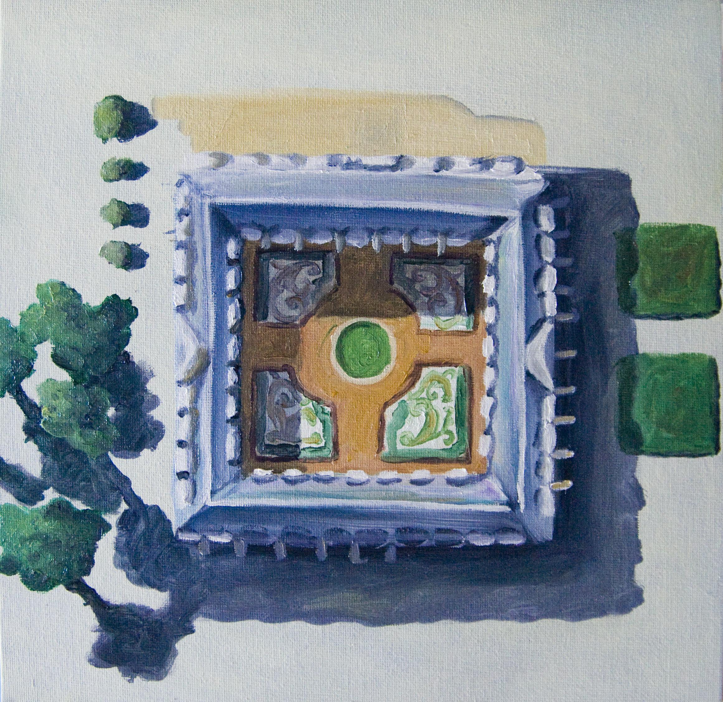 Val-de-Grâce   12x12, oil on canvas board  2011