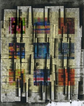 """Prague 1988 (14""""x19"""")"""