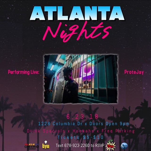 I need everybody that fwm and rock with Note to Self to come turn up wit me this weekend at Atlanta Nights I will be performing tracks from the album 💫. Tickets $5  18+  DM to secure your tix 📈