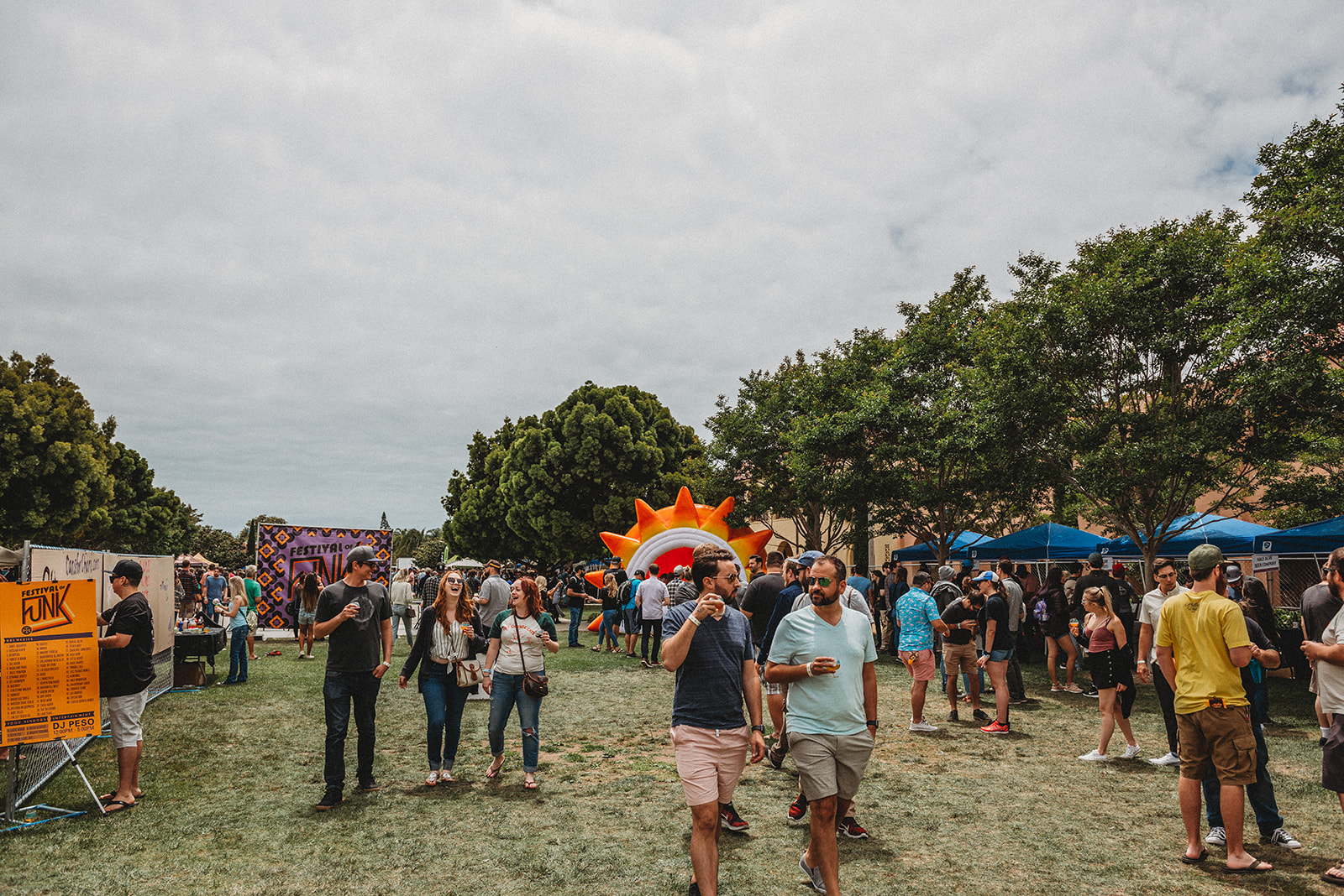 The 75,000 sq.ft. greenbelt was the perfect space for hundreds of vendors to post up and share the tastiest sours and saisons they had curated.
