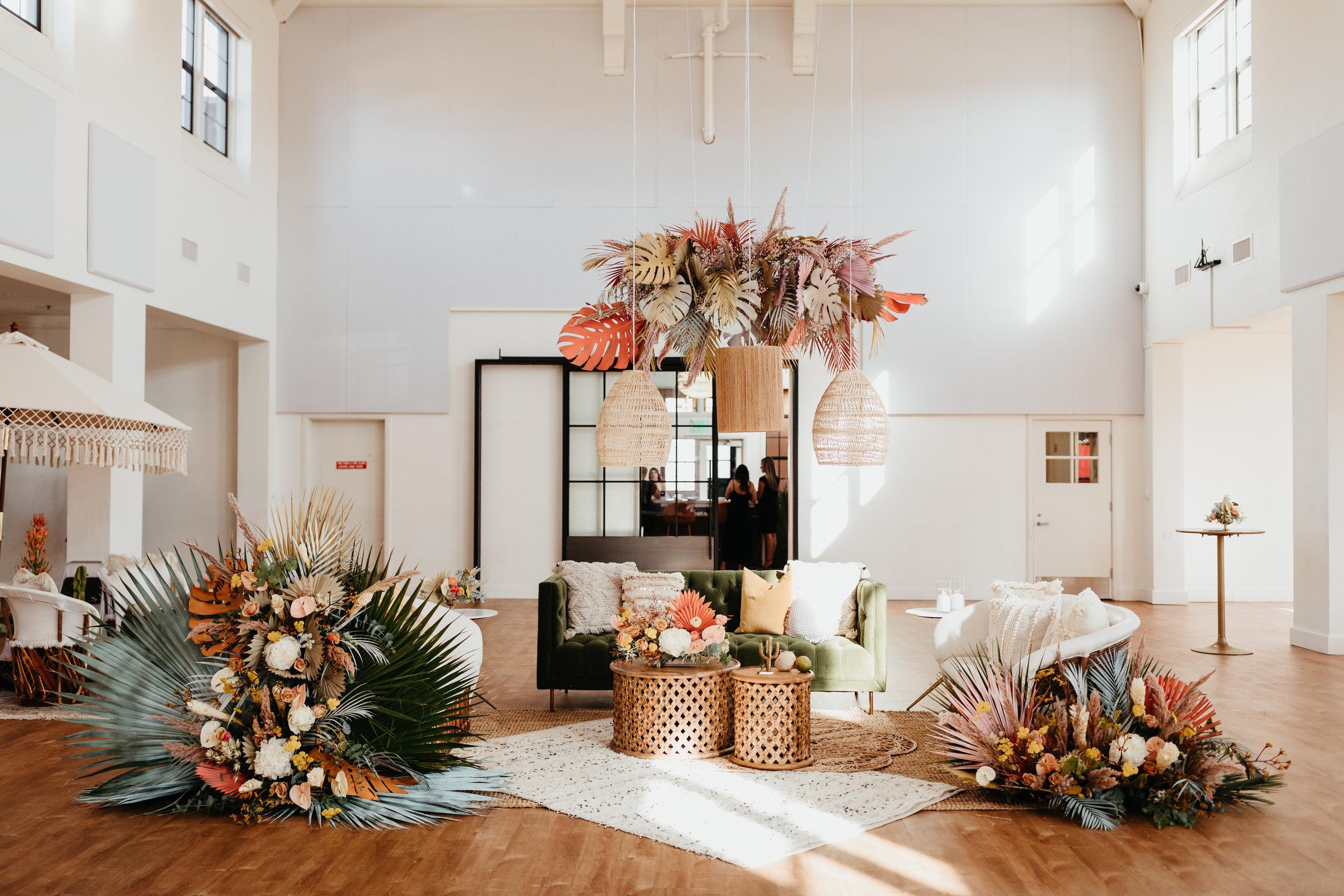 Specialty Rentals:  Sundrop Vintage Rentals  Florals:  Joy of Bloom Florals  Paper Goods:  Double Dipped Calligraphy