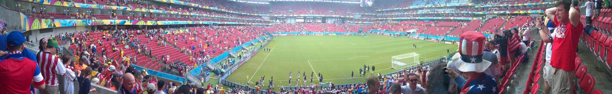 Arena Pernambuco in all of its glory