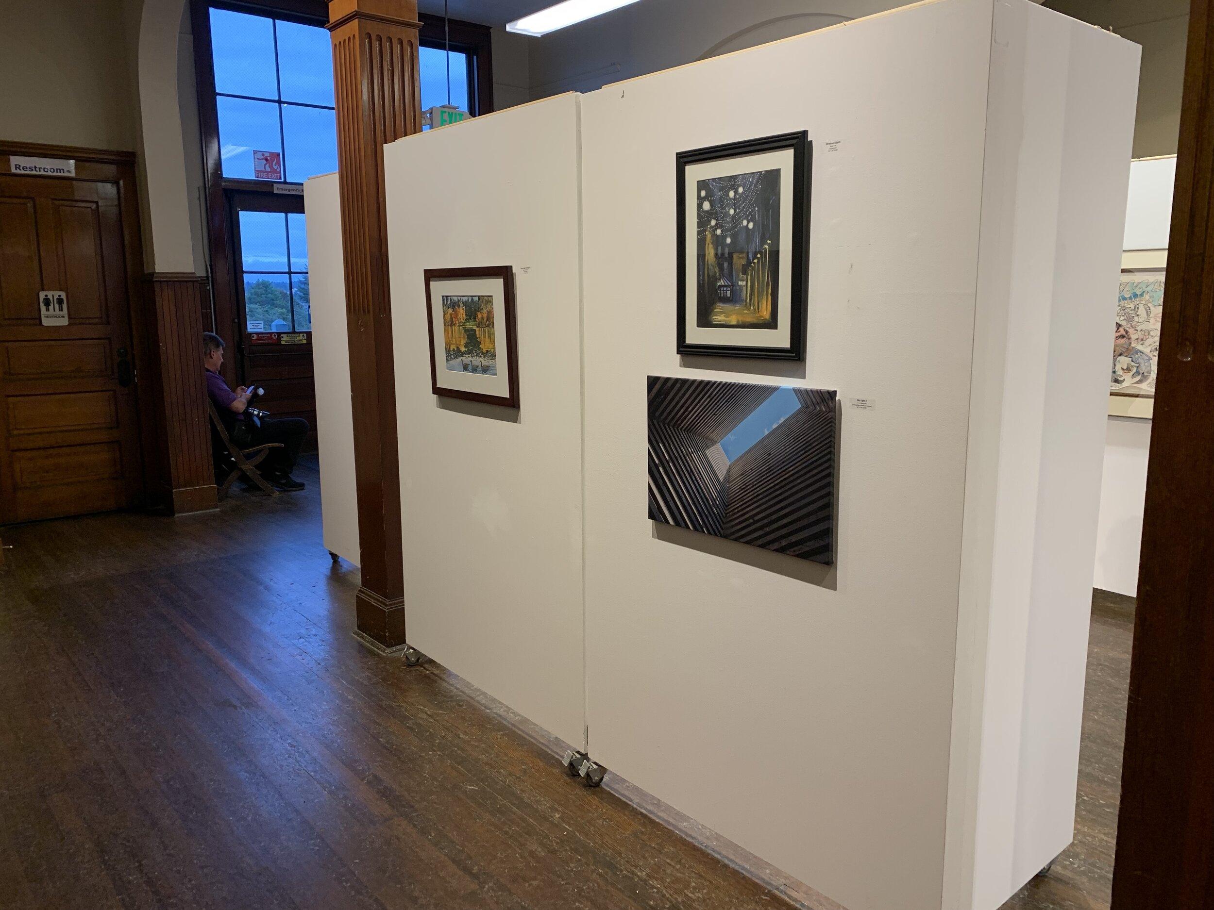 """""""Sky Light 2"""" among 40+ works on exhibit"""