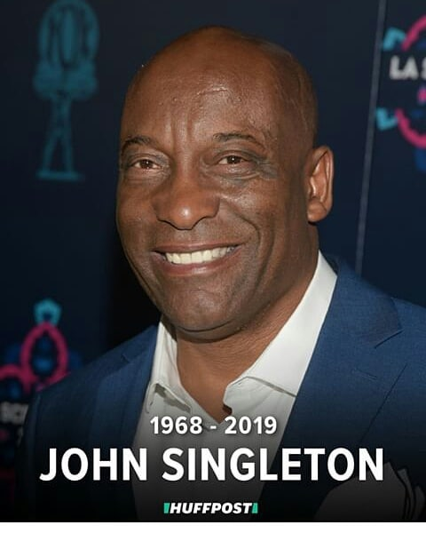 @amazingmagazine would like to honor a great light for us creatively and a AMAZING film director  #legend #johnsingleton  #rip  with my beautiful  wife  #Tracywingrove #rip