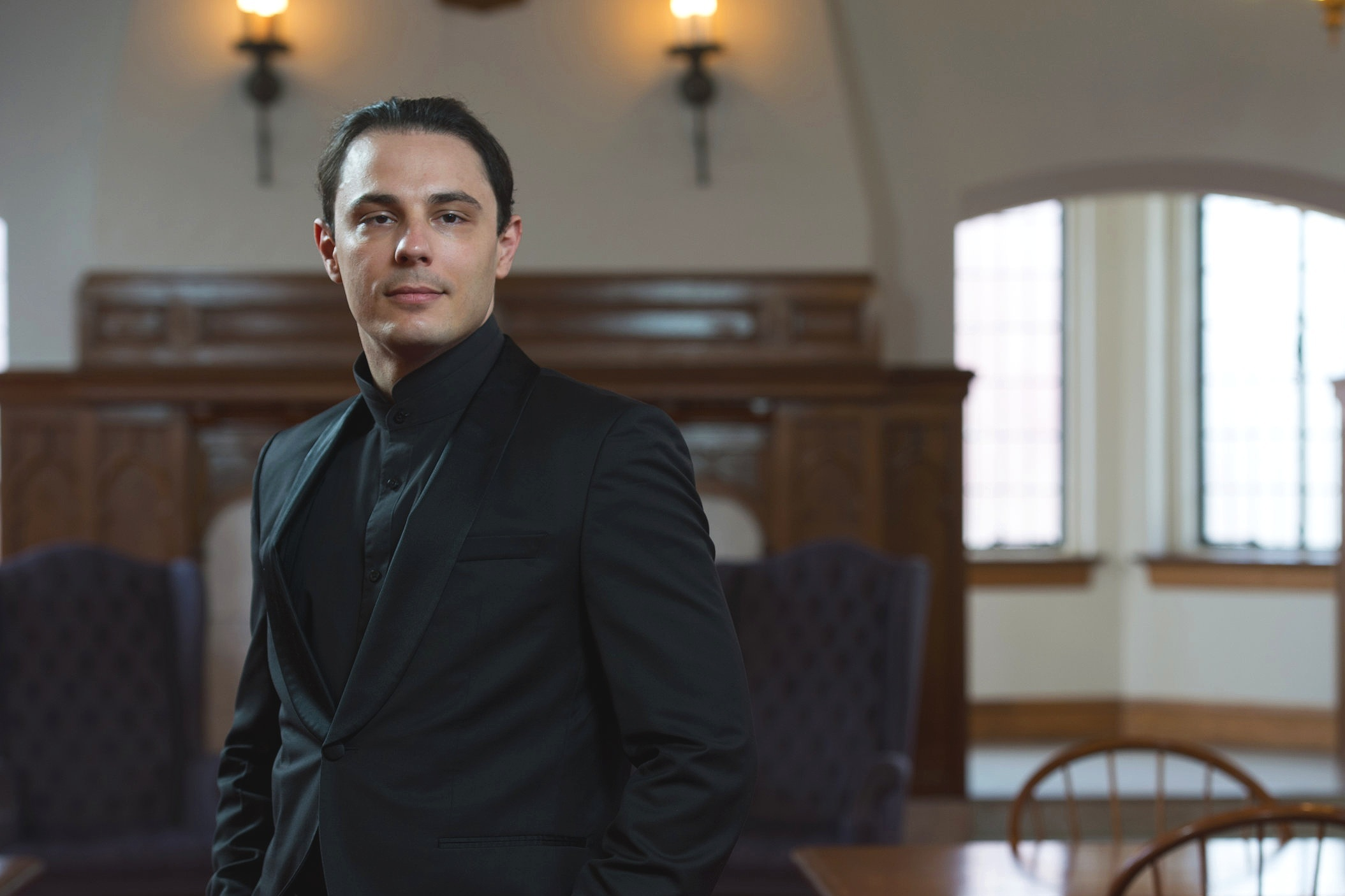 "Vlad Vizireanu began his career at the University of California studying music history. He has gone on to participate in music all around the world. He studied medieval chant at the University of Texas before going on to earn a masters in orchestral conducting at the Indiana University Jacobs School of Music. Finally he earned a Doctorate of Musical Arts at Arizona State University in both orchestral and opera conducting. Another candidate with a wonderful pedigree, Vlad has conducted orchestras such as the London Symphony Orchestra, Cadaques Symphony, and at the Enescu Festival in Bucharest.  Vlad is currently a Lecturer in Music at University of California in Santa Barbara. Recently he was Music Director at North Shore Symphony Orchestra in Plainview, NY, and conductor at New West Symphony Harmony Project Intermediate Orchestra in Ventura County, CA. The Harmony Project was geared at inspiring young children to have a lifelong appreciation for the arts. In Vlad's own words ""the greater purpose of a music is to bring people closer together."""