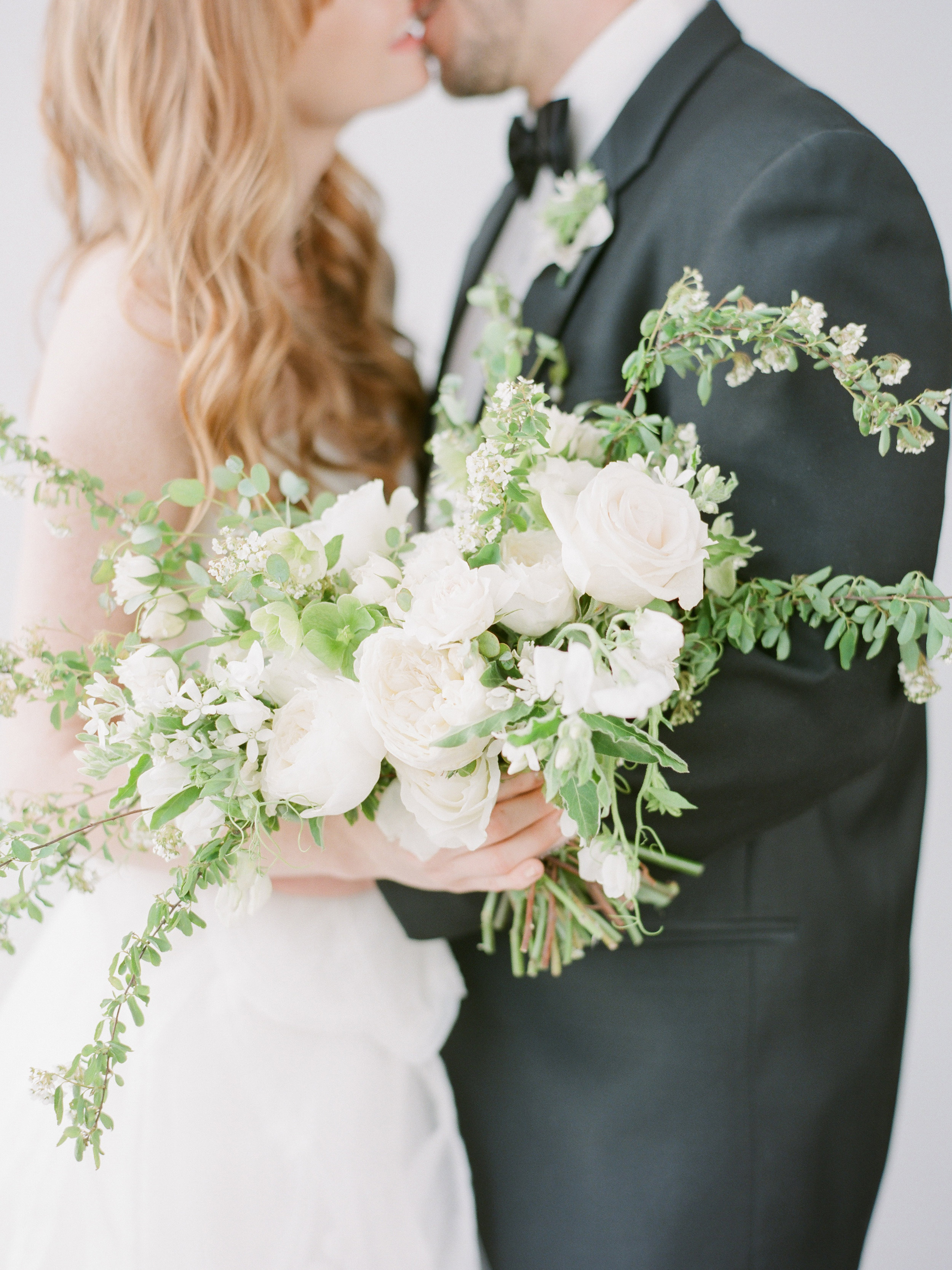 """Words of Affirmation - """"Carre is an absolute sweetheart, and she was very thorough and professional through the whole process. From the first meeting, Carre was well organized and seemed genuinely interested in my big day. Carre took what visions I had and made my wedding GORGEOUS! I knew I could trust her the whole time to deliver the best flowers for my day - I got so many compliments from the guests.""""-2018 Bride"""