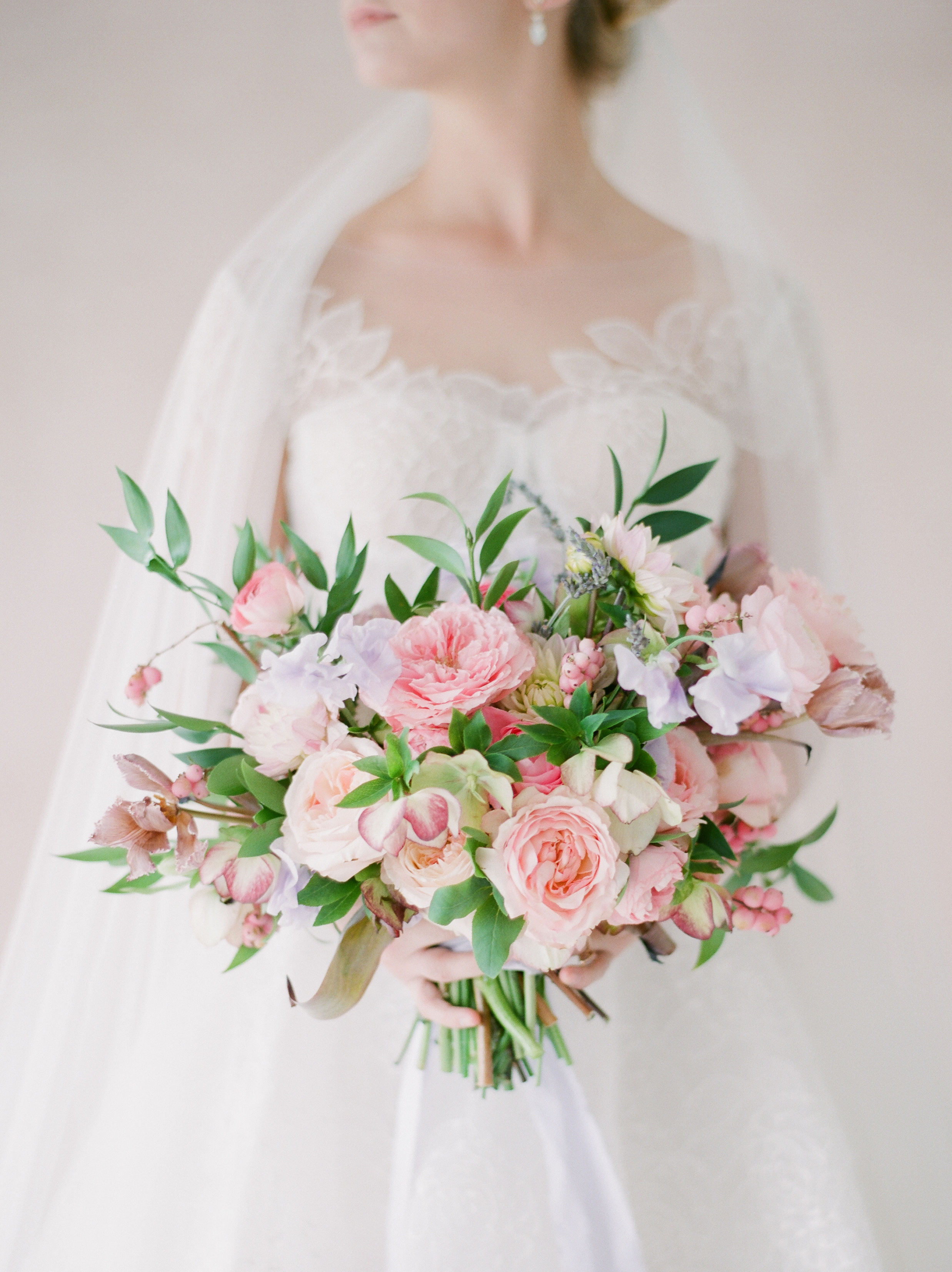 pink+wedding+flowers