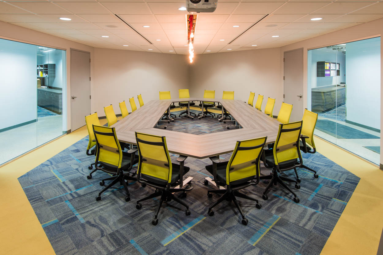 Nilex Inc. Case Study - This civil environmental group leveraged DIRTT's creative and construction flexibility in the renovation and recreation of their new office work space.View More Projects