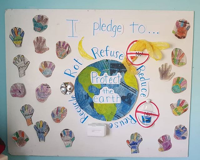Early Childhood and Grade 1  conservation pledges!