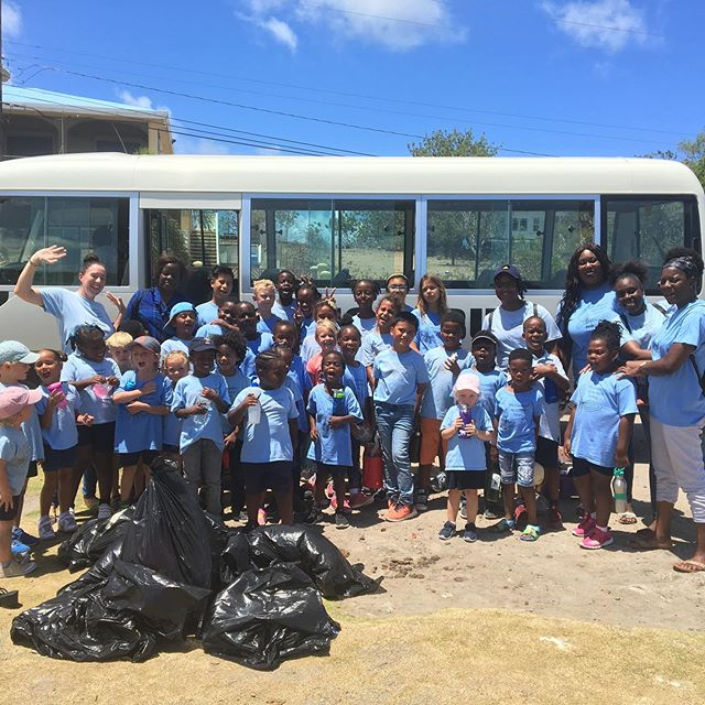 A day of action to conclude Conservation Week! We collected garbage on Gallows Bay and delivered it to the landfill, where we learned all about the importance of reducing our waste.