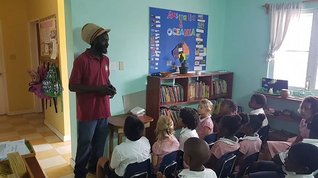 Mr Bankie came to school today to speak to us about the importance of composting as part of our conservation work. He will help us to make a school compost ! #nevis #montessori #nevisnice #nevisagriculture #agriculture