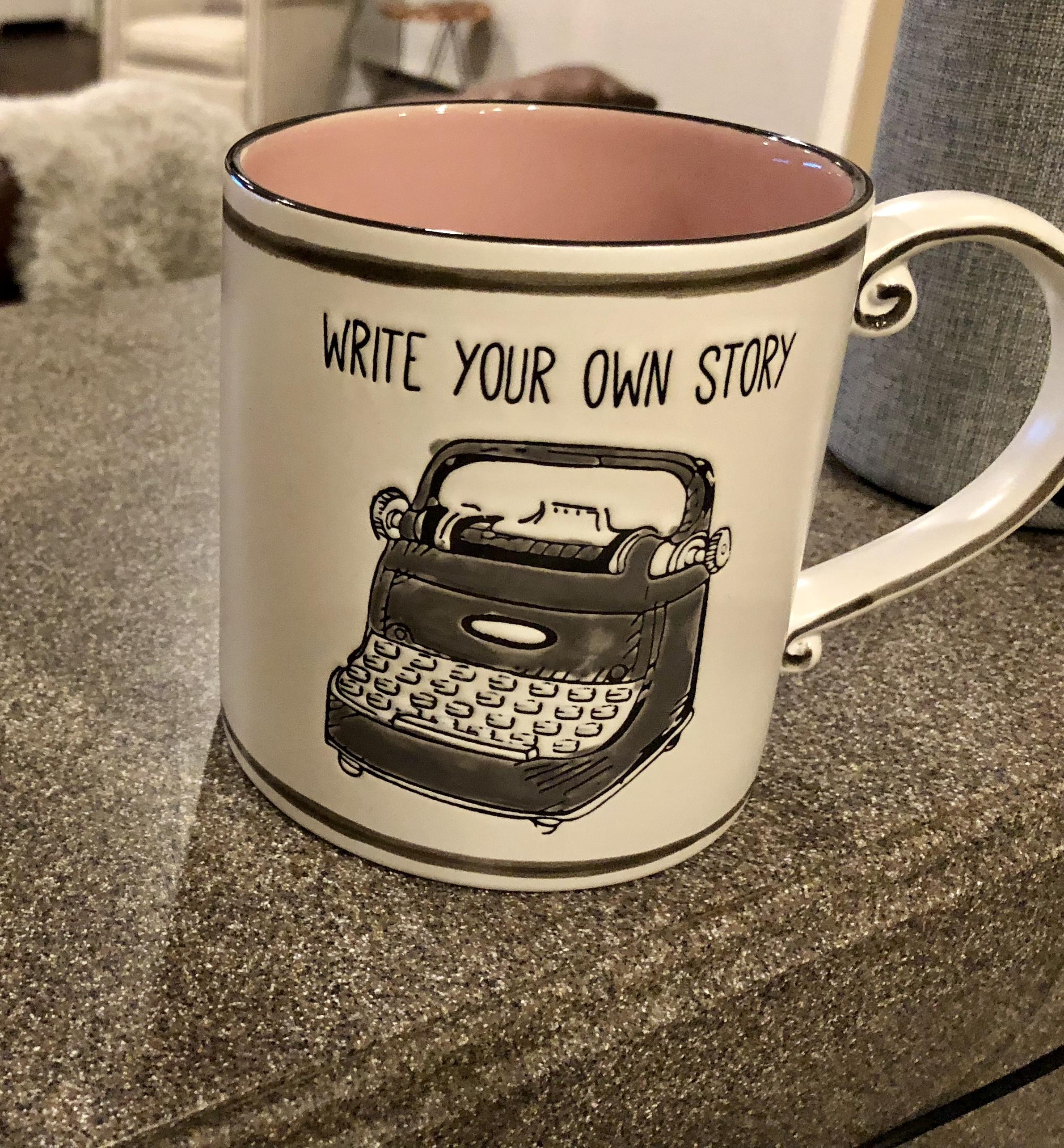 Write your own story mug