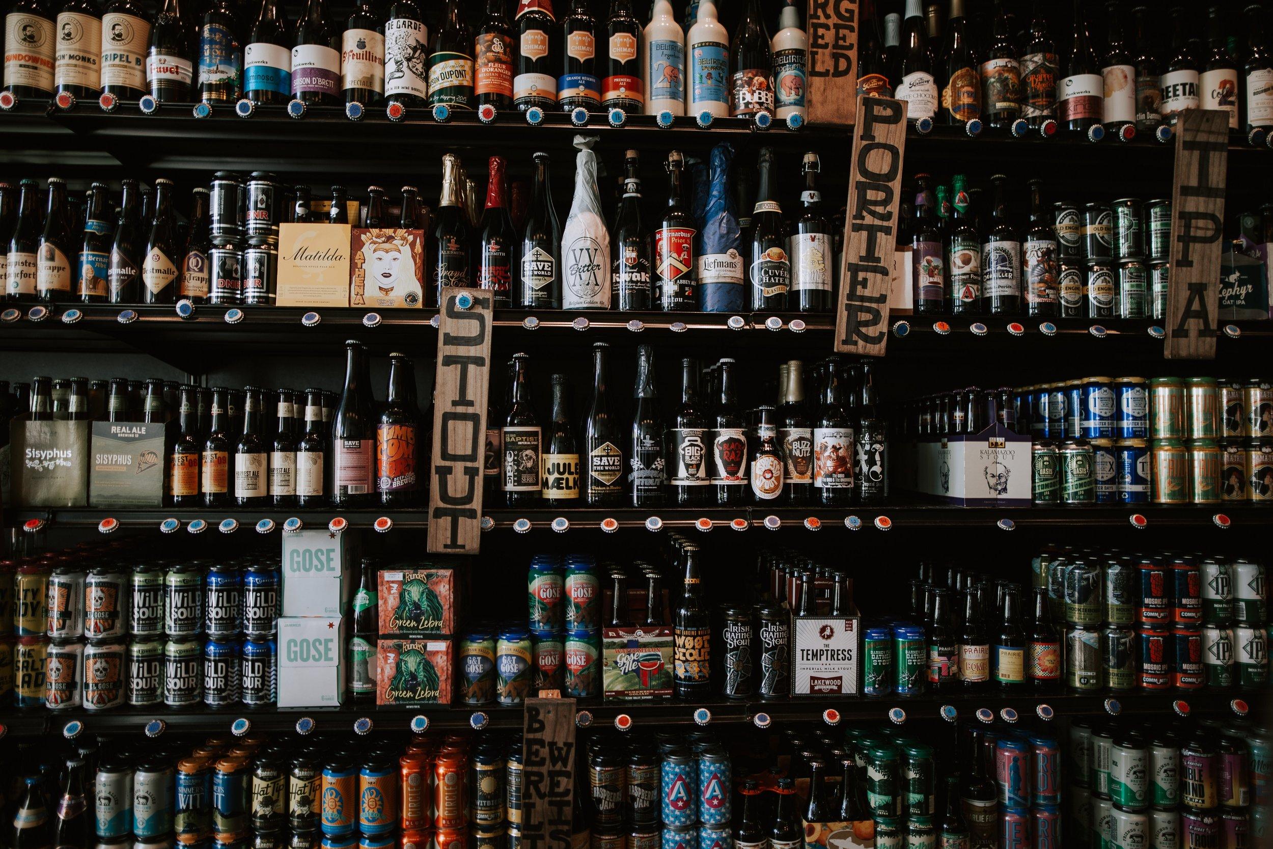 BEER & WINE -