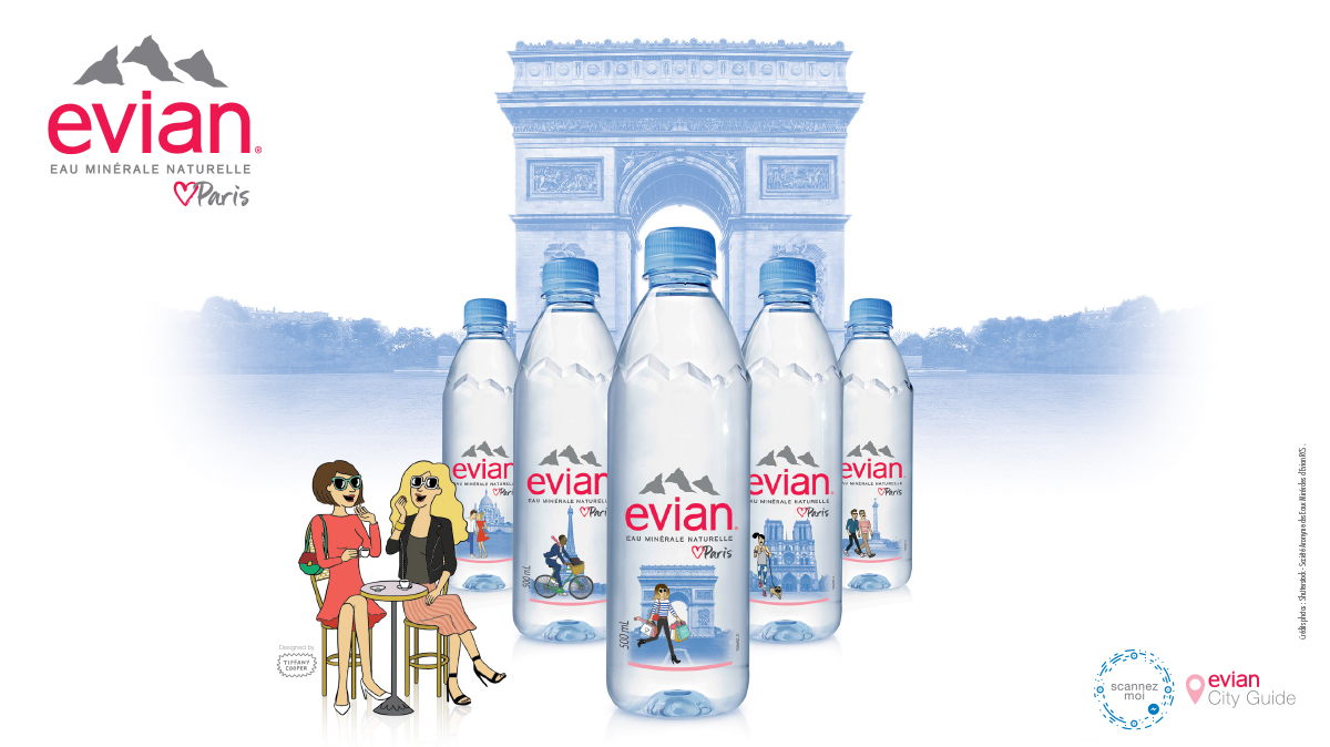 EVIAN - EVIAN <3 PARIS(IANS)