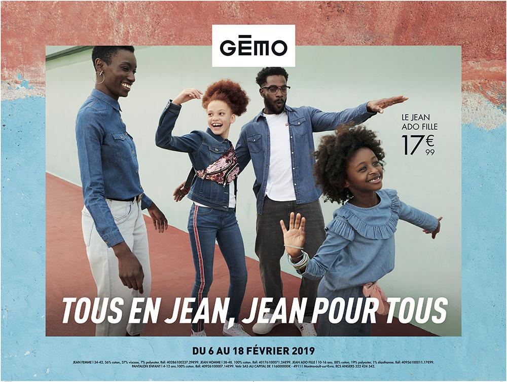 GÉMO - Tous en jean, jean pour tous