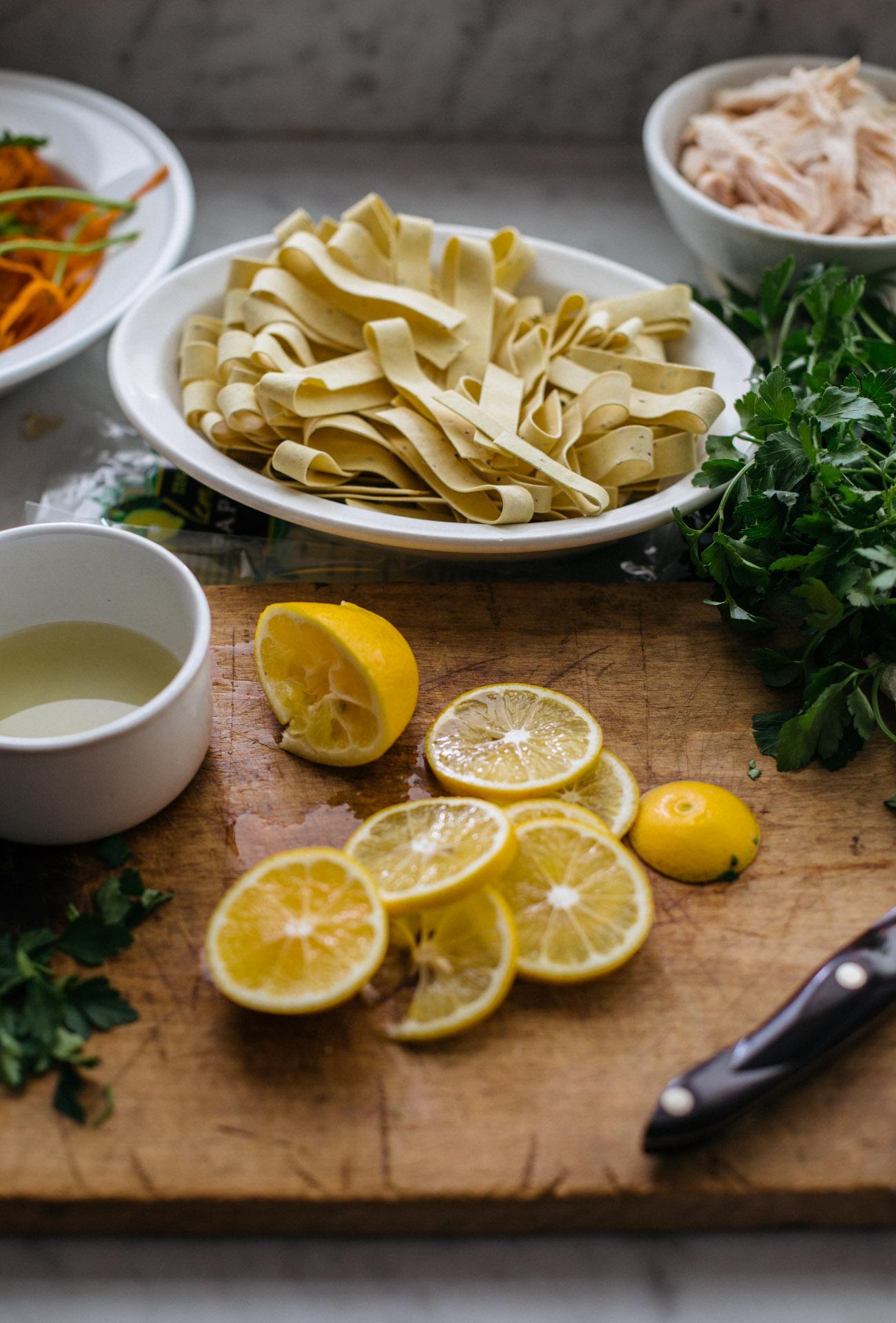 Heather Bullard   Lemon Pappardelle Chicken Soup