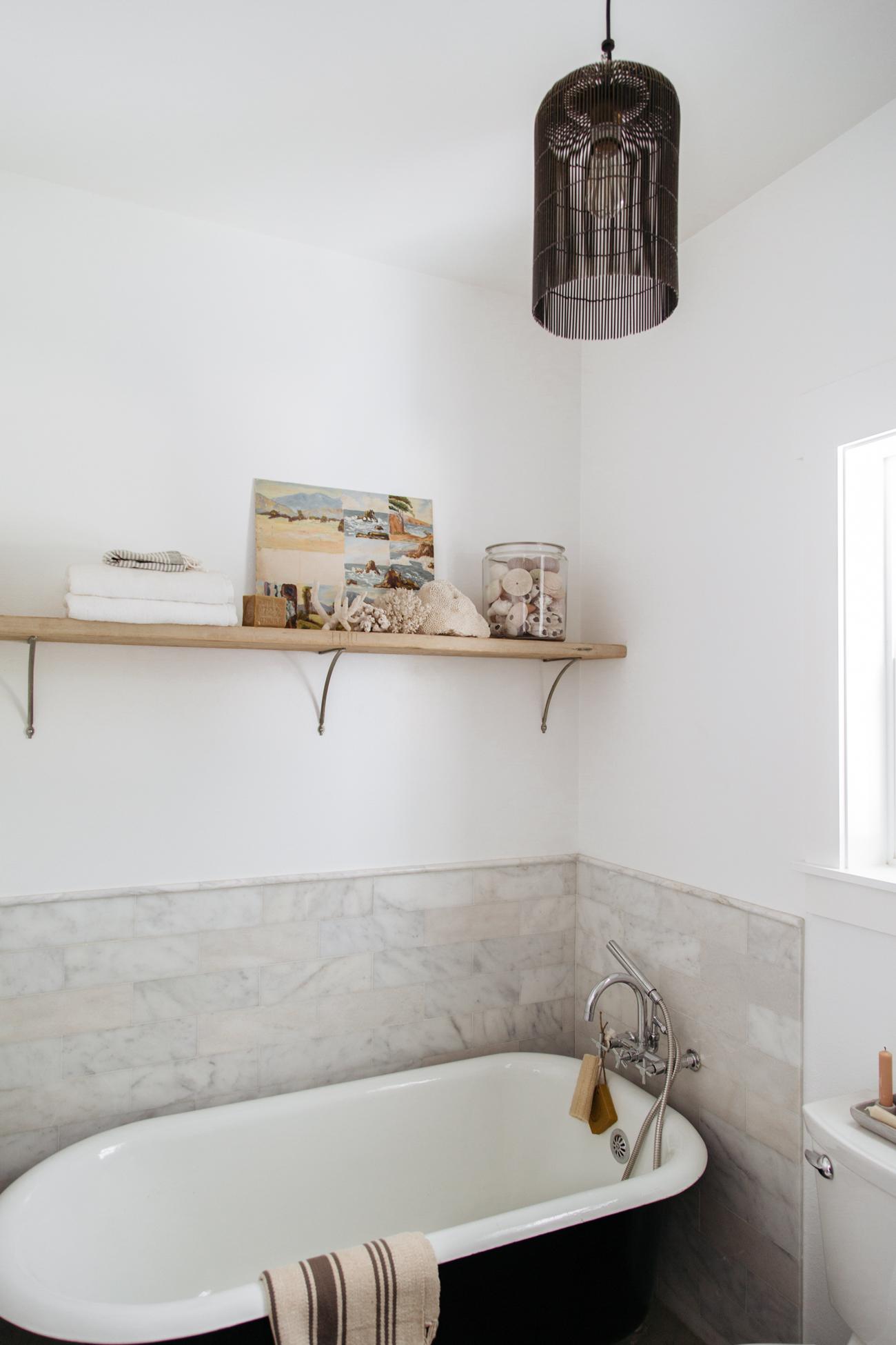 Heather Bullard | Modern Rustic Studio Bath