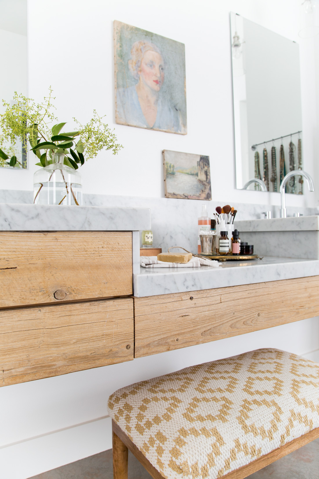 Heather Bullard | Marble Wood Vanity-7