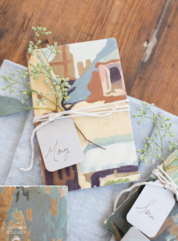 Heather Bullard | Paint-by-Number Placecard 2