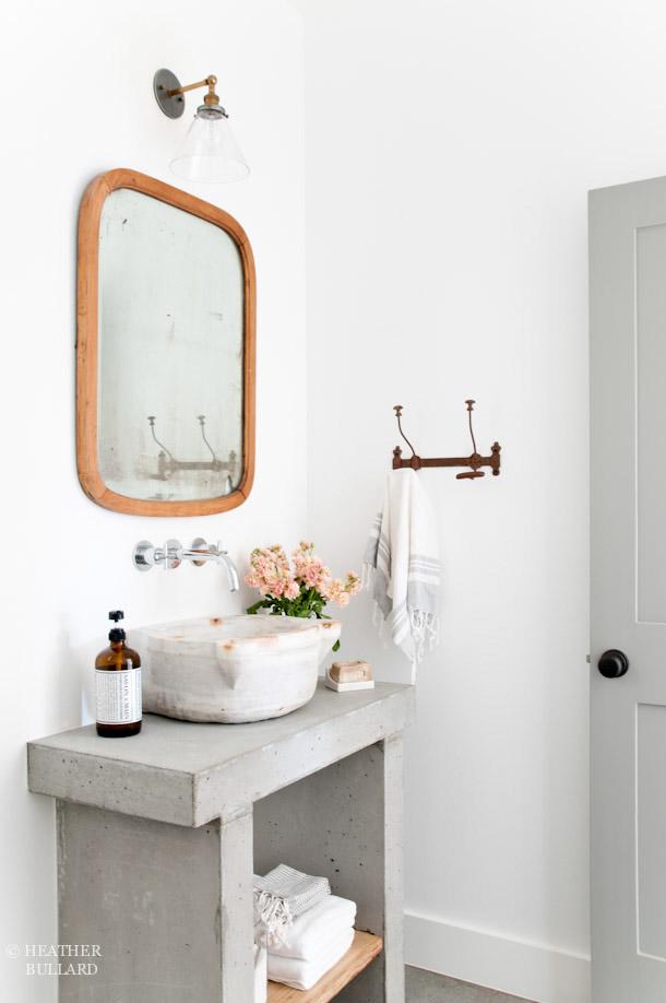 Diy Concrete Vanity Heather Bullard