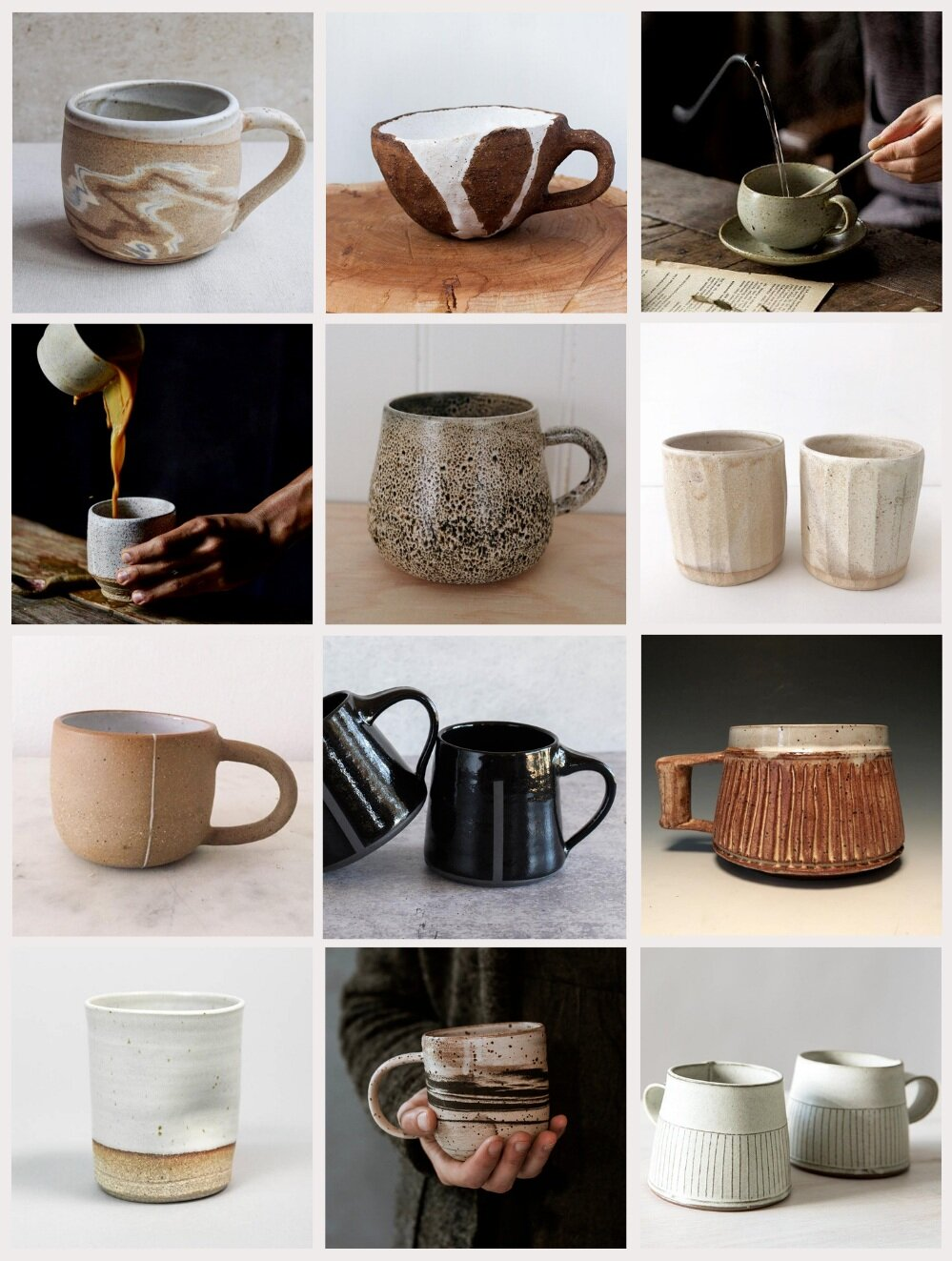 Collecting Handmade Vintage Mugs Heather Bullard